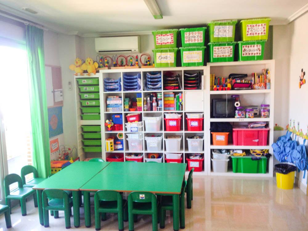 Colores instalaciones guarder a y escuela en rivas for Plano aula educacion infantil