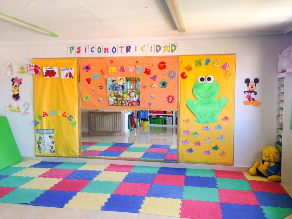colores instalaciones guarder a y escuela en rivas